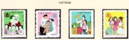 YEAR INTERN. OF CHILD - VIETNAM - Mi. Nr. 1040/1043 - NH - (6532-37.) - Vietnam