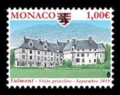 Monaco 2019 Mih. 3466 Estouteville Castle In Valmont MNH ** - Neufs