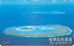 PAYSAGE - SEA - MER - OCEAN - Télécarte Japon - Landschaften