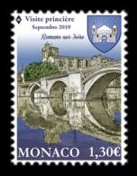 Monaco 2019 Mih. 3467 Commune Romans-sur-Isere. Church Of St. Barnard. Bridge MNH ** - Neufs