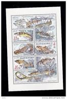 Bloc1998  De 3 Timbres Poisson Chien , Carpe , Apron YT 271/273 Neuf /  Sheet 1998 Mint Mi 317/319 Fishes - Blocs-feuillets
