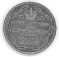 JAMAIQUE - JAMAICA - 5 SHILLINGS 1966 - Jeux Du Commonwealth - Jamaica