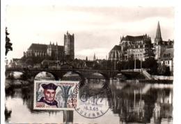 OBLITERATION JOURNEE DU TIMBRE 1963 AUXERRE YONNE - Poststempel (Briefe)