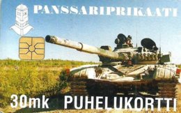 FINLAND 30 MK TANK ARMY SMALL MINTAGE !! CHIP USED ED12/97 CAT.No AUS39 READ DESCRIPTION !! - Finnland