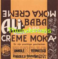 RARE ! ANCIENNE ETIQUETTE EMBALLAGE ETIKET LABEL CHOCOLADE CHOCOLAT RAVICO ALI ALITEX BRUXELLES - Etichette