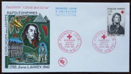 FDC 1964 - YT N°1434 - CROIX ROUGE / DOMINIQUE LARREY - BEAUDEAN - FDC