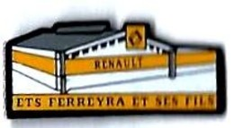 RENAULT - R64 - GARAGE FERREYRA - Verso : SM - Renault