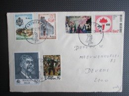 1843/48 - Culturele - Reeks Op Brief - Belgique