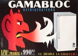 @@@ MAGNET - Gamabloc Refrigerateurs - Advertising