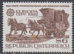 Europa Cept 1982 Austria 1v ** Mnh (44924A) - Europa-CEPT