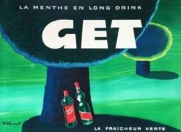 @@@ MAGNET - GET Menthe, Villemot - Advertising