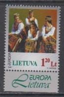 Europa Cept 1998 Lithuania 1v (+margin)  ** Mnh (44924B) - 1998