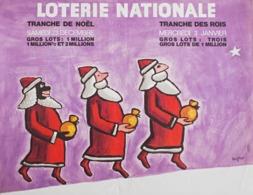 @@@ MAGNET - Loterie Nationale - Tranche De Noel, Savignac - Advertising