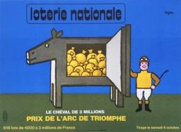 @@@ MAGNET - Loterie Nationale Jockey, Savignac - Advertising