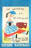 @@@ MAGNET - Loterie Nationale La Laitiere - Advertising