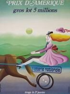 @@@ MAGNET - Loterie Nationale Prix D'Amerique - Advertising