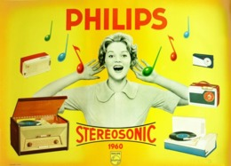@@@ MAGNET - Philips Stereosonic - Advertising