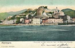 I124 - ITALIE - VENTIMIGLIA - Passarella Sul Roja, Vedle Del Capo E Del Monte Delle Monache - Imperia