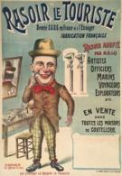 @@@ MAGNET - Rasoir Le Touristé - Advertising