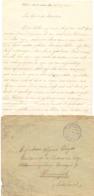 Brief Lettre - Van Sint Antonius Tijdens Oorlog - 16 April 1915  - Naar Alfons Wuyts Interneringskamp Harderwijk - Ohne Zuordnung