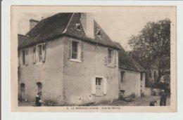 FRANCE / CPA / LE MENOUX / VUE DU BOURG - Frankreich