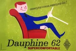 @@@ MAGNET - Renault Dauphine - Advertising