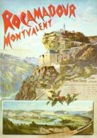 @@@ MAGNET - Rocamadour Et Montvalent - Advertising