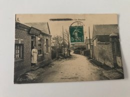 Carte Postale Ancienne (1916) VALDAMPIERRE La Rachie - France