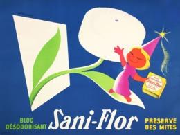 @@@ MAGNET - Sani-Flor - Advertising