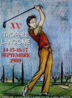 @@@ MAGNET - Trophee Lancome 1989, Golf - Advertising