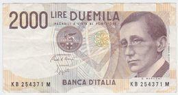 Italy P 115 - 2000 2.000 Lire 3.10.1990 - VF - [ 2] 1946-… : Républic