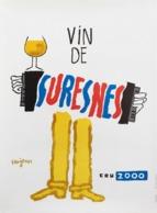 @@@ MAGNET - Vin De Suresnes, Savignac - Advertising
