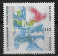 ALLEMAGNE  N°  1874  * *    Exposition Universelle A Hannovre L Homme Et La Nature - 2000 – Hanovre (Allemagne)