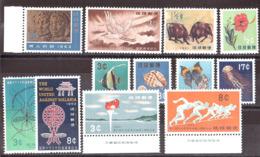 Ryu-Kyu - Lot De Timbres Neufs ** Des Années 1960 - Cote + 55 - Ryukyu Islands