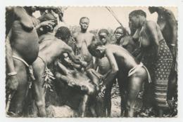Bangui.république Centre Africaine.un Rite De L'excision L'ablation Du Clitoris D'une Toute Jeune Fille.       .E.72 - Altri