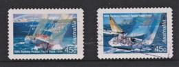 Australia 1994 Sydney To Hobart Yacht Race Set Of 2 Self-adhesives Used - 1990-99 Elizabeth II