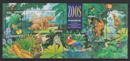 Australia 1994 Zoos Minisheet CTO - 1990-99 Elizabeth II