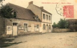 - PREMIERES (21)  - Ecole Et Mairie  (en Couleurs)  -20223- - Altri Comuni