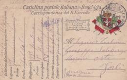 FRANGHIGIA - CARTOLINA POSTA MILITARE IN FRANCHIGIA - POSTA MILITARE 7 DIVISIONE - VIAGGIATA PER FORLì - 1900-44 Vittorio Emanuele III