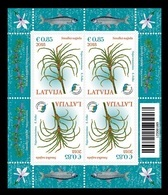 Latvia 2018 Mih. 1052 Flora. Delicate Naiad (M/S) MNH ** - Lettonie