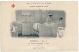 PARIS XVII° - Hôpital-Ecole, Croix Rouge Française, Union Des Femmes De France - Formación, Escuelas Y Universidades