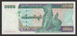 Myanmar 1000 Kyat (1998) Pick 77 UNC - Myanmar