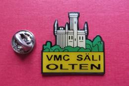 Pin's,Sport,Velo,VMC SÄLI OLTEN,Cycliste,Bike,Suisse,chateau - Cyclisme