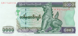 Myanmar 1000 Kyat (2004) Pick 80 UNC - Myanmar