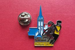 Pin's,Sport,Velo,SAFENWIL RADQUER SM 1995,Cycliste,Bike,Suisse,limité - Cyclisme