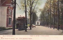 256677Bloemendaal, Koepel Van De Rijp Korte Kieverlaan Met Tram 6 Naar Haarlem. Rond 1900. - Bloemendaal