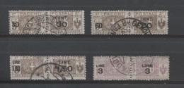 REGNO 1923-25 PACCHI POSTALI SERIE CPL. USATA - Paketmarken