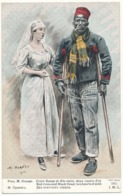 Guerre Européenne 1914-1915 - Croix Rouge Et Tête Noire - Association Des Dames Françaises - Lapina - War 1914-18