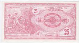 Macedonia P 2 - 25 Denar 1992 - UNC - Macédoine