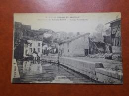Carte Postale  - MOIREMONT (51) - Abreuvoir - Village Bombardé - 1916  (3639) - France